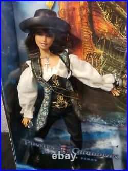 Pirates Of The Caribbean On Stranger Tides Angelica Barbie Doll Mattel T7655