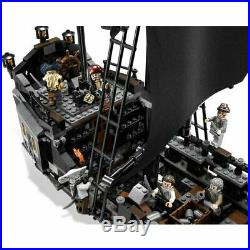 Pirates Of The Caribbean THE BLACK PEARL SHIP BATTLE SET fit lego