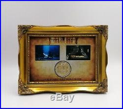 Pirates Of The Caribbean Treasure Coin Prop Display Jack Sparrow Depp Coa