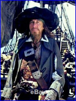 Pirates of The Caribbean Barbossa Hero Pistol DISNEY AUCTIONS ORIGINAL COA/BILL
