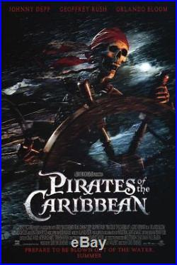 Pirates of the Caribbean Adv Movie Poster Double Sided