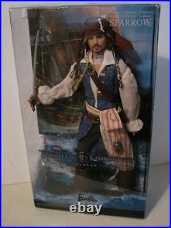 Pirates of the Caribbean Captain Jack Sparrow, NRFB, 2010