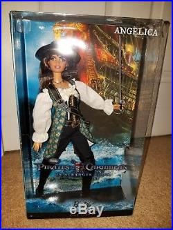 Pirates of the Caribbean Captain Jack Sparrow and Angelica Barbie Dolls