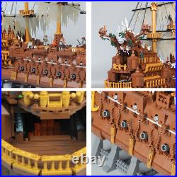 Pirates of the Caribbean FLYING DUTCHMAN Davy Jones Ship Blocks Technic Kids Toy
