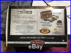 Pirates of the Caribbean Four-Movie Collection Blu-ray/DVD, 2011, 15-Disc Set