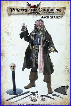 Pirates of the Caribbean Jack Sparrow Johnny Depp hot action figure toys