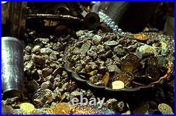 Pirates of the Caribbean Movie Used Treasure Rare Gold Nugget