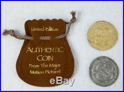 Pirates of the Caribbean Original Movie Film Prop Coins Rare Disney HTF POTC