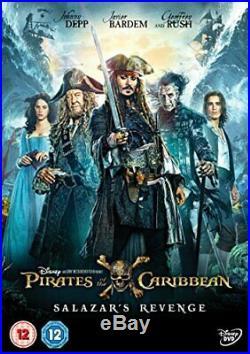 Pirates of the Caribbean Salazar's Revenge DVD 2017 DVD H9VG The Cheap
