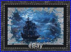 Pirates of the Caribbean Silver Leaf Moonlit Pearl James Coleman Original Disney