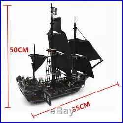 Pirates of the Caribbean The Black Pearl Ship 804pcs Compatible With bluilding