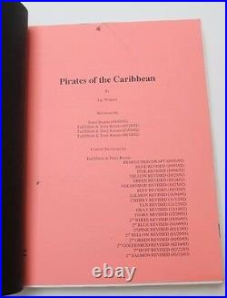 Pirates of the Caribbean The Curse of the Black Pearl 2003 Movie Script