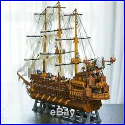 Pirates of the Caribbean The Flying Dutchman Pirate Ship Legoed Blocks Toys Kit