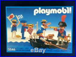 Playmobil 3546 Pirates and Sailors mint in box vintage set from 1986