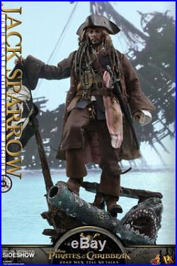 Potc 5jack Sparrow / Johnny Deppsixth Scale Figuredx15hot Toysmib