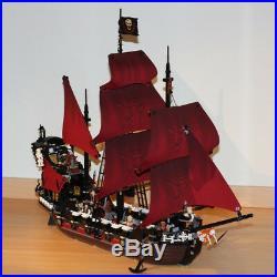 Queen Anne's Revenge Ship Pirates Of The Caribbean Model Building Blocks