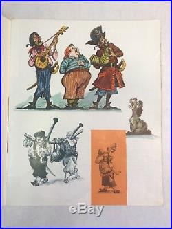 RARE 1968 Vintage Disney Pirates of the Caribbean Souvenir Book Disneyland
