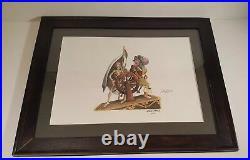 RARE Disney pirates of the Caribbean print framed rare Marc Davis concept ART