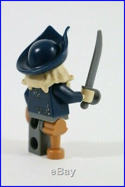 Rare Lego Davy Jones Minifigure 4184 Vgc Pirates Of The Caribbean Black Pearl