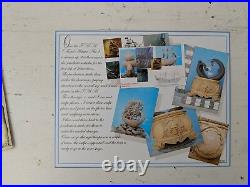 Rare Pirates of the Caribbean Dead Man's Chest Musical Snow Globe Lithographs