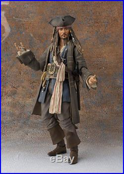 S. H. Figuarts Captain Jack Sparrow from Pirates of the Caribbean Bandai Japan