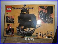 SEALED Vintage LEGO 804 pcs Pirates of the Caribbean Black Pearl 4184 Free SHIP