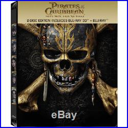 (STEELBOOK) Pirates of the Caribbean Dead Men Tell No Tales (Blu-ray 3D + 2D)