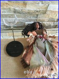 TONNER Disney 16 Vinyl DOLL TIA DALMA fr. Pirates of the Caribbean with Necklace