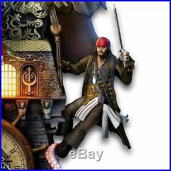 The Bradford Exchange Collectible Disney Pirates of The Caribbean Illuminated Bl