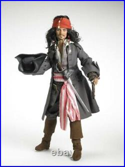 Tonner Doll Captain Jack Sparrow Pirates of the Caribbean Johnny Depp Sealed