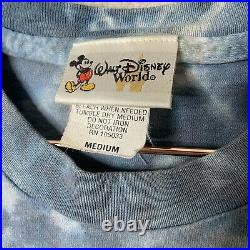 Vintage 1990s Pirates Of The Caribbean Disney Single Stitch Tie Dye T-Shirt