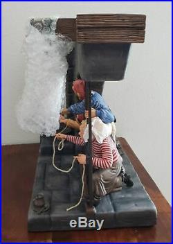 WDCC Disney Classics Pirates Of The Caribbean Jailhouse Jail Scene Figurine RARE