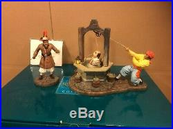 WDCC Pirates of the Caribbean A Pirate's Life For Me! + Box & COA