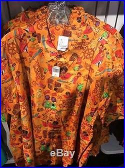 WDI Disney Imagineering 2017 D23 Expo Pirates of the Caribbean Camp Shirt 3XL