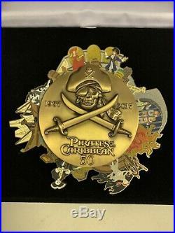 WDI Pirates of the Caribbean 50th Anniversary Super Jumbo LE250