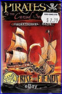 Wizkids Pirates Rise Of Fiends Booster Pack X 36