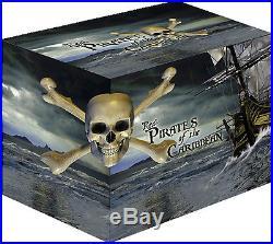 Wonderful 2011 Niue Large 4x1 Oz Silver 2$ Pirates of the Caribbean Gift Box set