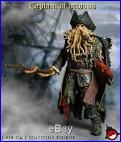 XDTOYS XD001 1/6 Pirates of the Caribbean The Octopus captain Davy Jones Figure
