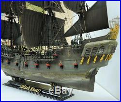 ZVEZDA 9037 Black Pearl Captain Jack Sparrow Ship Pirates 172 Scale Model Kit