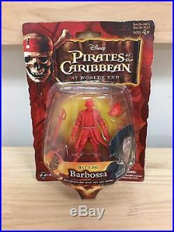 Zizzle Pirates of the Caribbean POTC Cutler Beckett 3 3/4 prototype figure